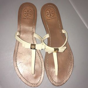 Tory Burch sandals ( bow style)